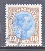 DENMARK    123   (o) - 1913-47 (Christian X)