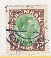 DENMARK    125   (o) - Used Stamps