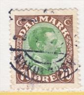 DENMARK    125   (o) - 1913-47 (Christian X)