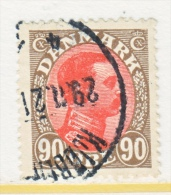 DENMARK    127   (o) - 1913-47 (Christian X)