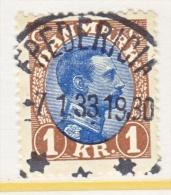 DENMARK    128   (o) - 1913-47 (Christian X)