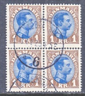 DENMARK    128x4   (o) - Used Stamps