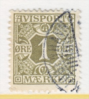 DENMARK    P 1   (o)   Wm 113  Crown - Used Stamps