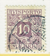 DENMARK    P 4   (o) - Used Stamps