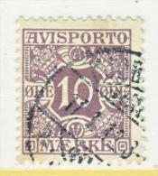 DENMARK    P 4   (o) - 1905-12 (Frederik VIII)