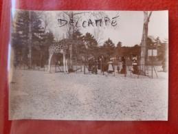 PARIS PARC ZOOLOGIQUE LA GIRAFE PHOTO 16.8 X 12 - Oud (voor 1900)