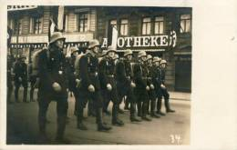 Frankfurt - Défilé De Troupes Nazies / Procession Of Troops Nazis - Photocard ( To See Back ) - Guerra 1939-45