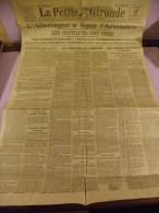 1° GUERRE MONDIALE : L ALLEMAGNE A SIGNE L ARMISTICE , LES HOSTILITES ONT CESSE - 1914-18