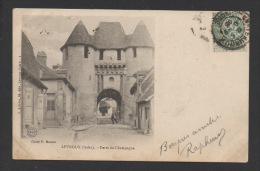 DF / 36 INDRE / LEVROUX / PORTE DE CHAMPAGNE / CIRCULÉE EN 1903 - France