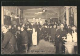 AK Soltau, Kriegsgefangenenlager, Kino Café - Weltkrieg 1914-18