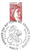Cyclisme    1982  Tour De France   Paris - Ciclismo