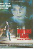 "E 381 -  LEOS CARAX "" MAUVAIS SANG  "" MICHEL PICCOLI / JULIETTE BINOCHE / DENIS LAVANT / HUGO PRATT - Affiches Sur Carte"