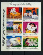 France 3066 3071 Journée De La Lettre De Carnet Avec Vignette 1997 Neuf ** TB MNH  Sin Charnela Cote 12 - Neufs