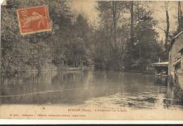 RUGLES  -  L'Abreuvoir Sur La Rille    106 - France