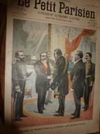 1900 LE PETIT PARISIEN: Gravures Sur (1e,4e Couv) :Le Président KRÜGER (de La République Du TRANVAAL (Afrique Du Sud) - Journaux - Quotidiens