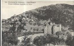 Lozere : Villefort, Environs, Castanet, Vieux Chateau Fortifié, Bien Avant La Mise En Eau Du Lac - Villefort