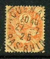 France Y&T 109 ° Haguenau - 1900-29 Blanc