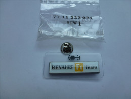 Superbe Pin´s  Neuf , Auto F1 , Formule 1 , Renault F1 Team - F1