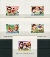 Congo 1978. Michel #614/19+Bl.#15-B MNH/Luxe. Soccer. W C Argentina-78 - Copa Mundial