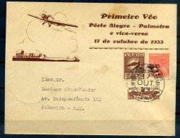 BRESIL POSTE AERIENNE 1933 VARIG - Autres (Air)