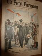 1900 LE PETIT PARISIEN: Gravures  : Le Président Du TRANSVAAL (Krüger) En France; Défilé Des COMPAGNONS-CHARPENTIERS.. - Journaux - Quotidiens