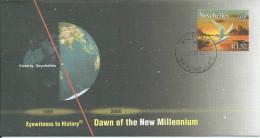FDC SEYCHELLES 2000 DAWN OF THE NEW MILLENNIUM - Seychelles (1976-...)