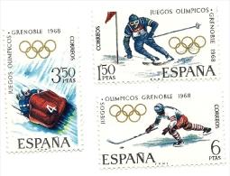 1968 - Spagna 1504/06 Olimpiadi Di Grenoble, - Inverno1968: Grenoble
