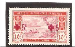 AU PROFIT DE LA CROIX ROUGE  N° 58a * - Unused Stamps