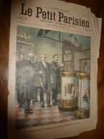 1900 LE PETIT PARISIEN: Gravures  : Expo ; Drame Naval En Suède (éperonnage Prins-Karl Et Koeping) - Journaux - Quotidiens