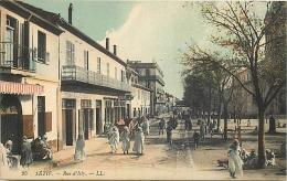 ALGERIE 1281  CPA  SETIF     -    Rue D'isly Animation      Belle Carte - Sétif