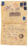 Russland R-Brief Von Moskau Nach USA Mit Seltene Gebührenmarke Für Briefmarkentauschsendungen  3K Auf 3 R - 1923-1991 URSS