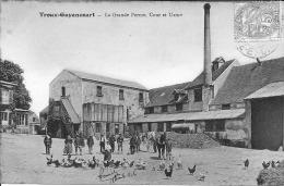 Troux - Guyancourt - La Grande Ferme, Cour Et Usine - Guyancourt