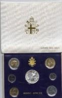 PIA - VATICANO- 1990 : Serie Monete Anno XII° Pontificato Di Giovanni Paolo II - 47.000  Serie - Vatican