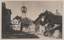 AK Trogen Unterdorf Gasthaus Zum Burschen ? Kirche AR Appenzell Ausserhoden Bei St. Gallen Wald Speicher Schweiz Suisse - AR Appenzell Rhodes-Extérieures