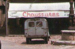 CP. 46 . SAINT-CERE . PLACE DU MERCADIAL .  CITROEN 2CV  CAMIONETTE - Other Municipalities