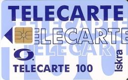 TARJETA DE ARGELIA DE 100 UNITES DE TELECARTE ISKRA - Argelia