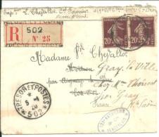 129eme Bataillon Sénégalais 1920 Trésor Et Postes - Documenti