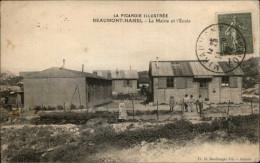 80 - BEAUMONT-HAMEL - Mairie - école - Préfabriqués - Après Guerre - France
