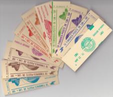 Carnets Série Complete N° 2220c 3A Expo 11/21 Juin 1982 - Carnets