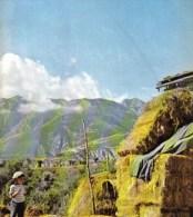 NUBI SULLA MAIELLA 1961 FOTO RITAGLIATA DA GIORNALE - Victorian Die-cuts