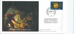 FDC NEDERLAND  REMBRANDT 400 JAAR 29-12-2006 - FDC