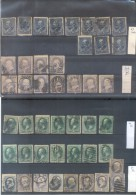 EXCELLENT OFFER - A LOT OF OLD STAMPS OF U.S.A. SOLD AS IS - TO INVESTIGATE TO STUDY  MORE THAN 320 EUROS YVERT TELLIER - 1847-99 Algemene Uitgaves