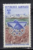 OL-E2 - Gabon 1967 _ Mi 272 - Winter Olympics 1968  ***  MNH - Inverno1968: Grenoble