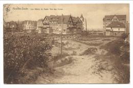 CPA - KNOKKE - KNOCKE - Les Hôtels Du Zoute - Vue Des Dunes  // - Knokke