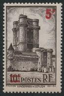 FRANCE 1941 - Yv. 491 ** TB  Cote= 2,30 EUR - Donjon Du Château De Vincennes ..Réf.FRA27323 - Francia