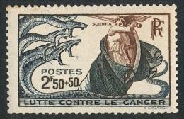 FRANCE 1941 - Yv. 496 **   Cote= 2,00 EUR - Lutte Contre Le Cancer ..Réf.FRA27337 - Francia