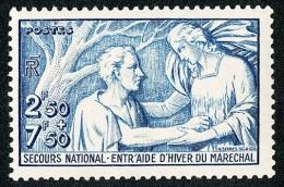 FRANCE 1941 - Yv. 498 **   Cote= 11,00 EUR - Au Profit Du Secours National. ..Réf.FRA27355 - Francia