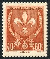 FRANCE 1941 - Yv. 527 **   Cote= 3,00 EUR - Armoiries : Lille ..Réf.FRA27412 - Francia