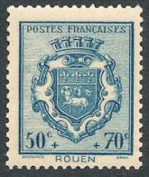 FRANCE 1941 - Yv. 528 *   Cote= 2,00 EUR - Armoiries : Rouen ..Réf.FRA27416 - Francia