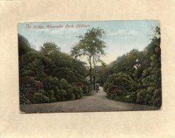 54300    Regno  Unito,   The Bridge,  Alexandra Park,  Oldham,  VG  1906 - Manchester